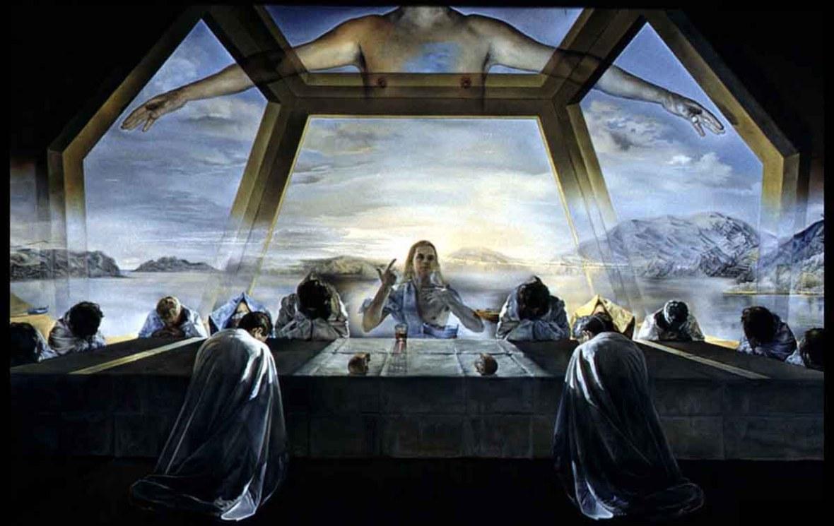 Salvador Dali's Last Supper